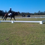 Polvin Portable Dressage Arena