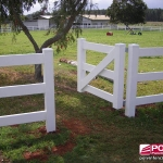 3 Rail Full Internal Steel Pedestrian Gate