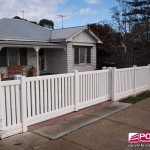 Polvin PVC Gates Picket Fence
