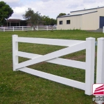 3 Rail Full Internal Steel Single Gate