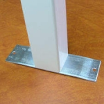 Steel Stand with Post