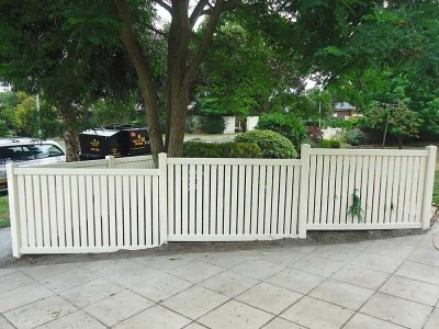 1.2m high Semi-Privacy Fence