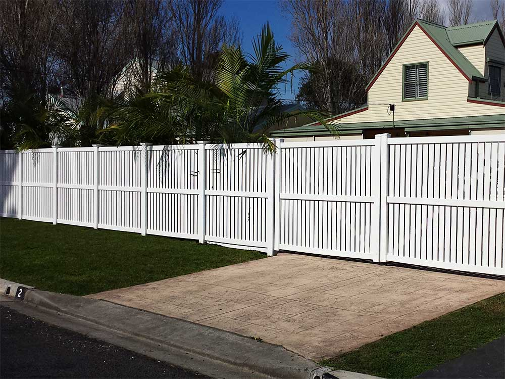 1.8m high Semi-Privacy Fence