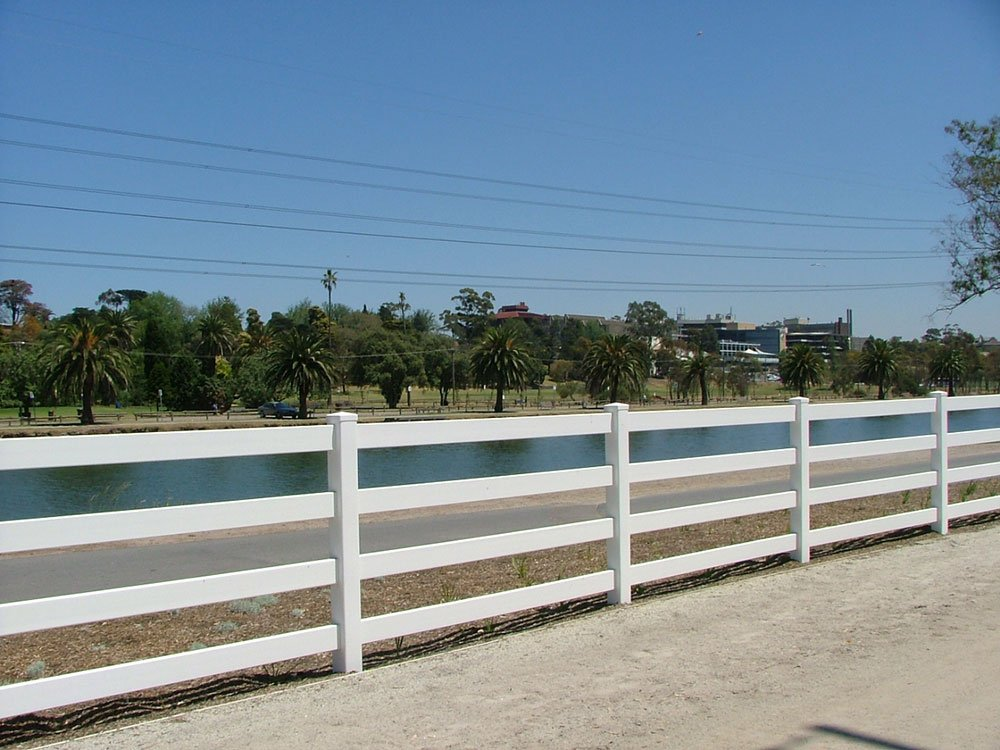 4-Rail Post and Rail Fencing