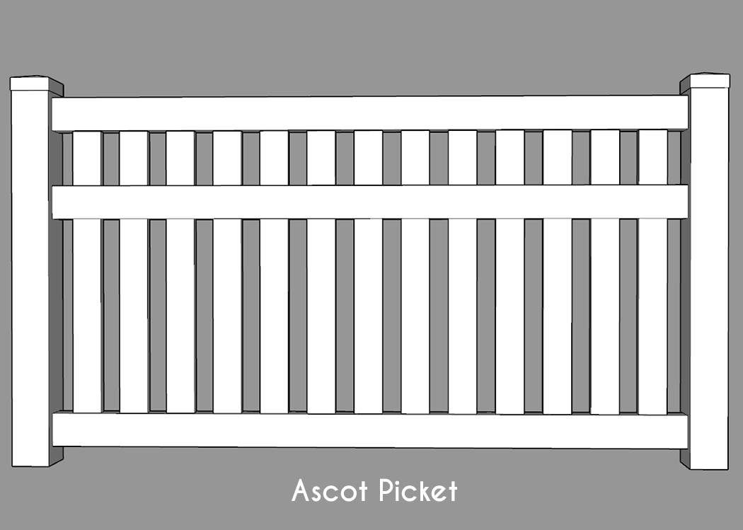 Ascot Picket Fence