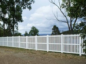 Colonial Picket Fence at 1.8m high