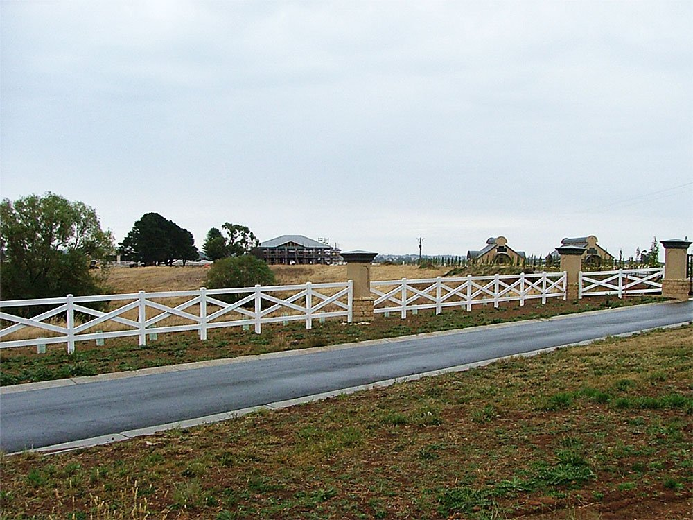 Crossbuck Post and Rail Fencing