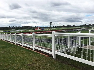 Stepped Deluxe Barrier Mesh Fencing
