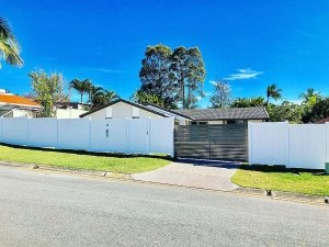 1.88m high Full Privacy Fence Stepped