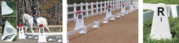 Portable Horse Arena Letters