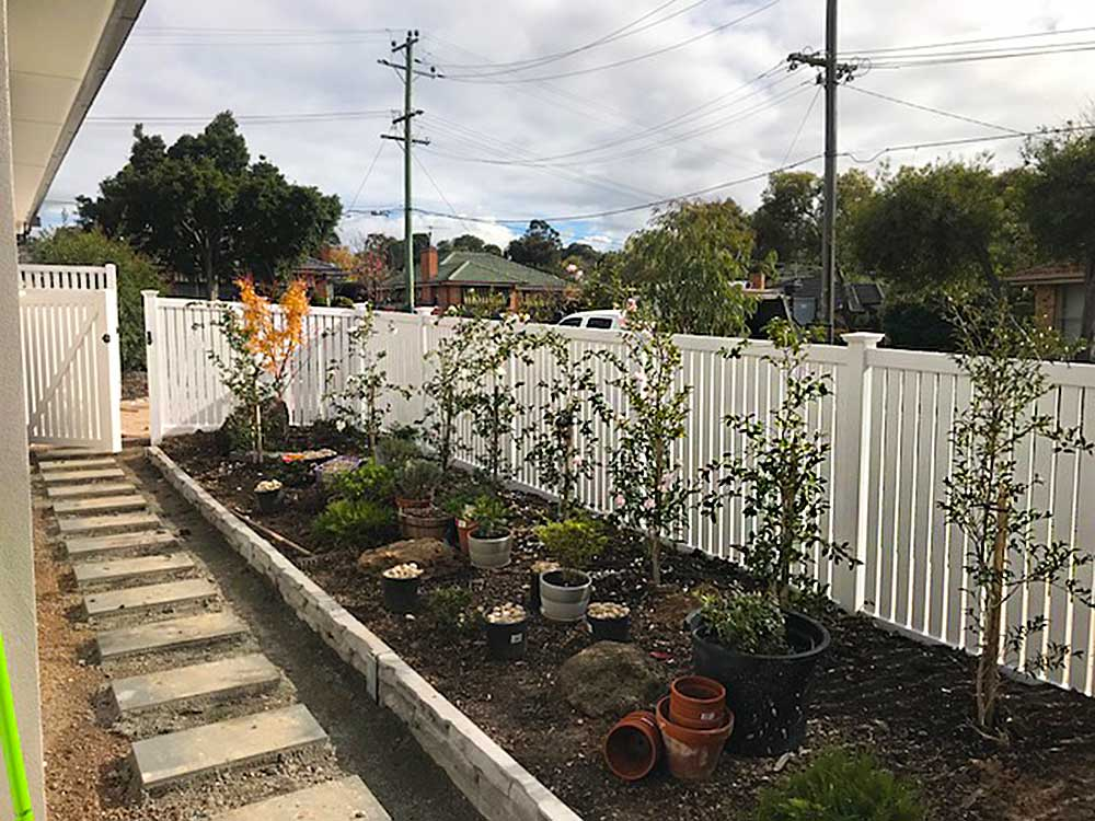 1.5m high Semi-Privacy Fence