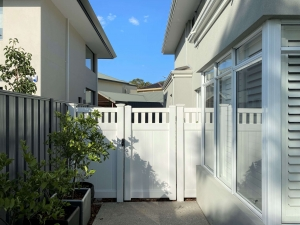 Privacy Picket Top – Single Gate 2